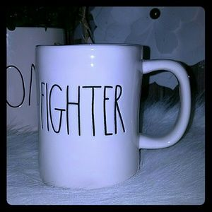 Rae Dunn fighter mug
